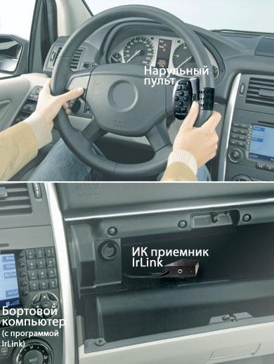 Пульт для автомобильного компьютера