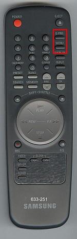 Пример пульта с кнопками-переключателями